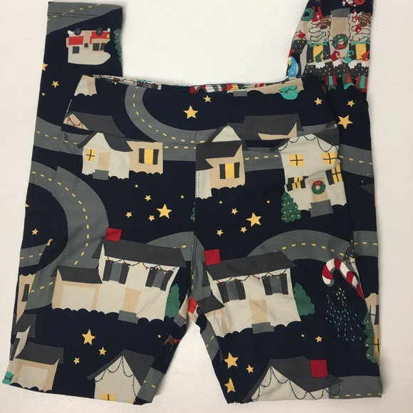 LuLaRoe Other - LuLaRoe Christmas Leggings